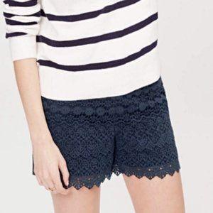 LOFT Riviera Layered Lace Shorts NWT
